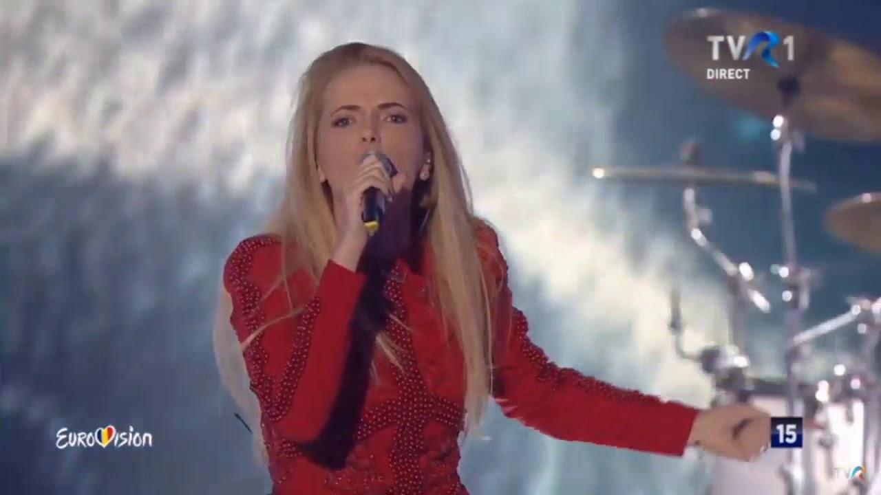 The Humans-Eurovision, poziția a doua în semifinală 2