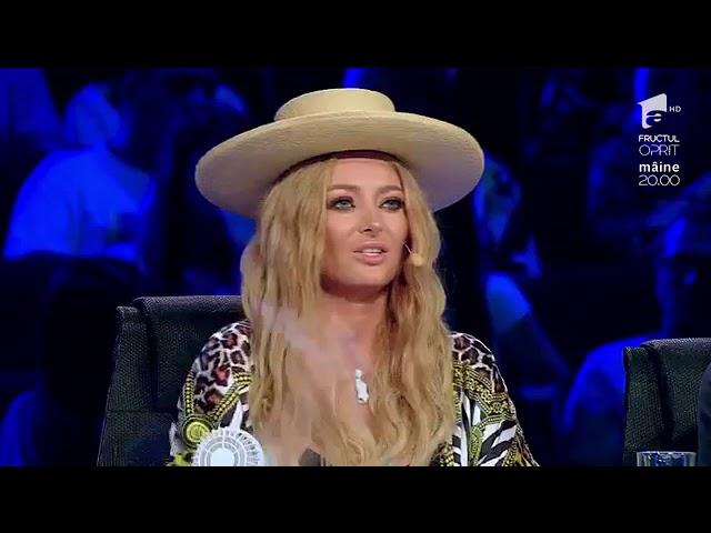 Ioana Bulgaru -Audiții X Factor România 2018 12