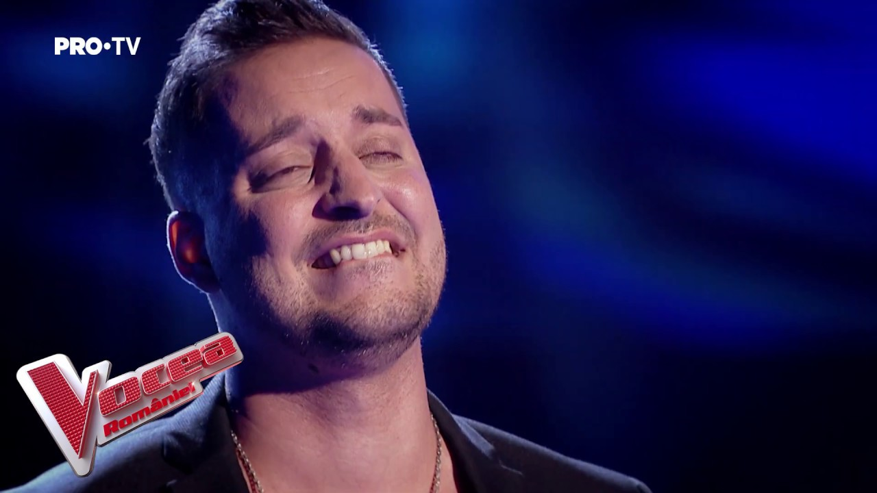 Kevin Magalhaes - She's Out Of My Life-Vocea României-Audiții (VIDEO) 5