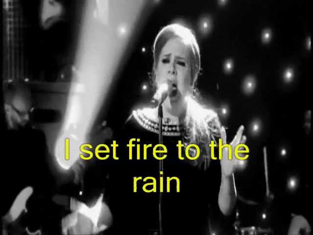 Adele:Set Fire To The Rain (Video) 5