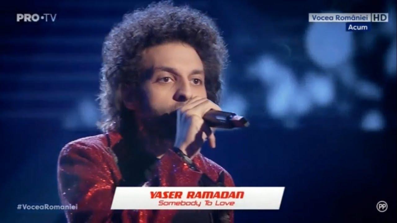 Yaser Ramadan - Somebody To Love la Vocea Romaniei 2019/ Audiții 8