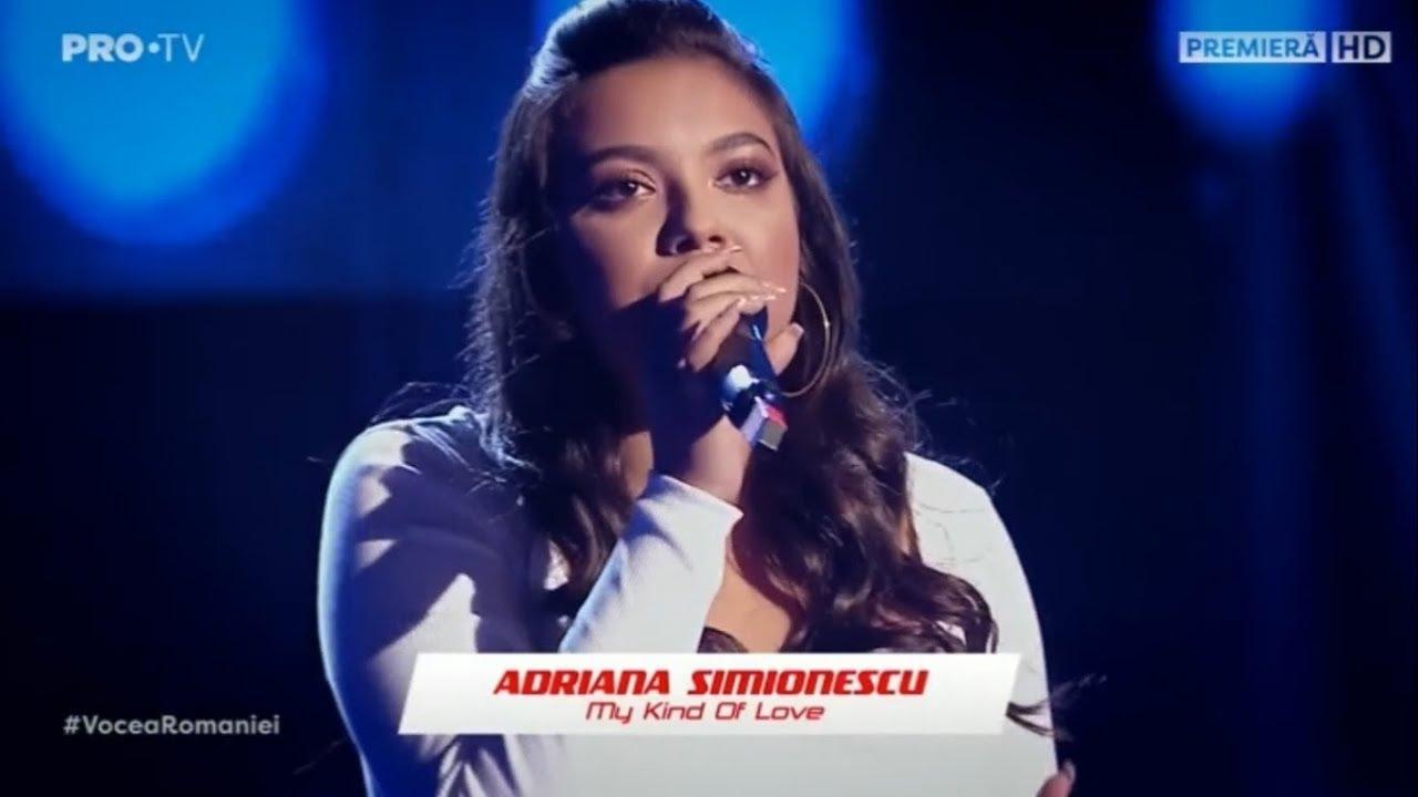 Adriana Simionescu la Vocea României 2019/Audiții-My Kind Of Love 4