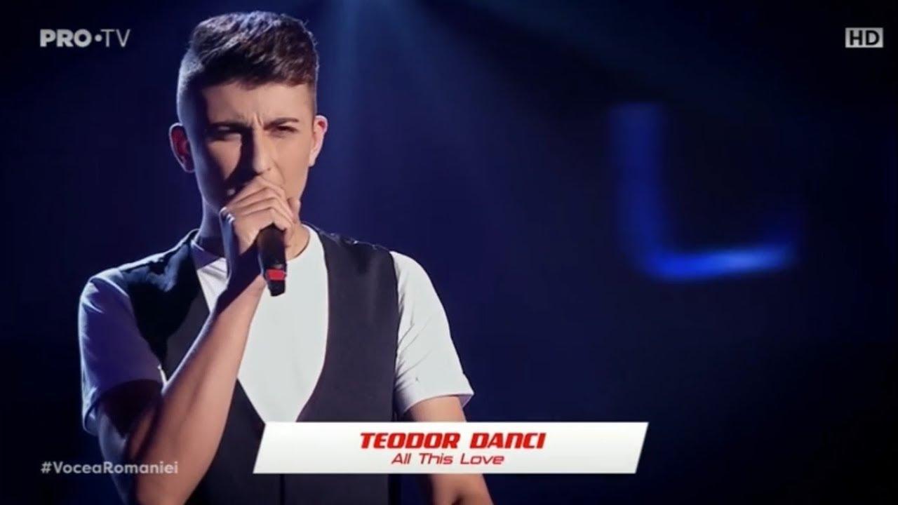 Teodor Danci la Vocea României 2019/Audiții 2