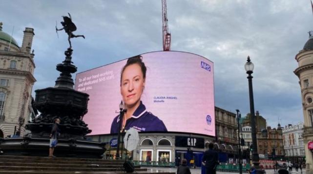 asistentă româncă