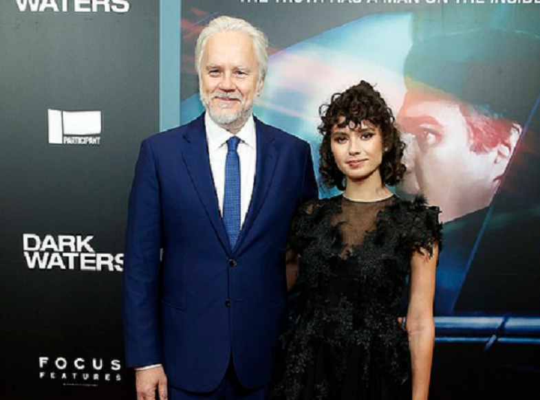 Tim Robbins and Grațiela Brâncuși