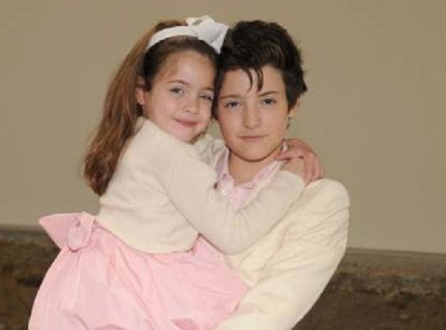 harry brant și sora lui