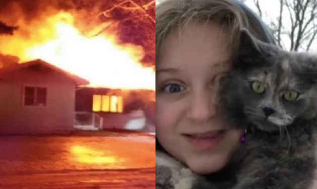 O fetiță din SUA și-a salvat părinții din incendiuincendiu