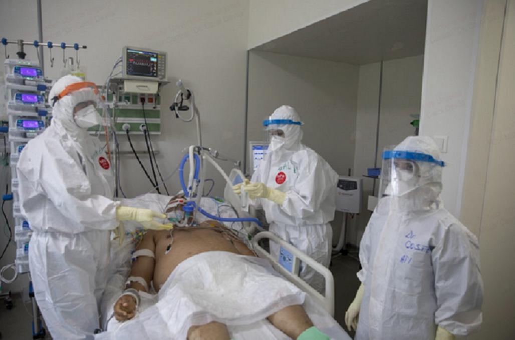tânăr cu covid-19 refuză oxigenul
