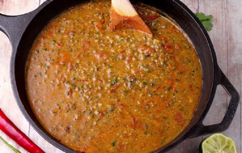 curry de fasole mung