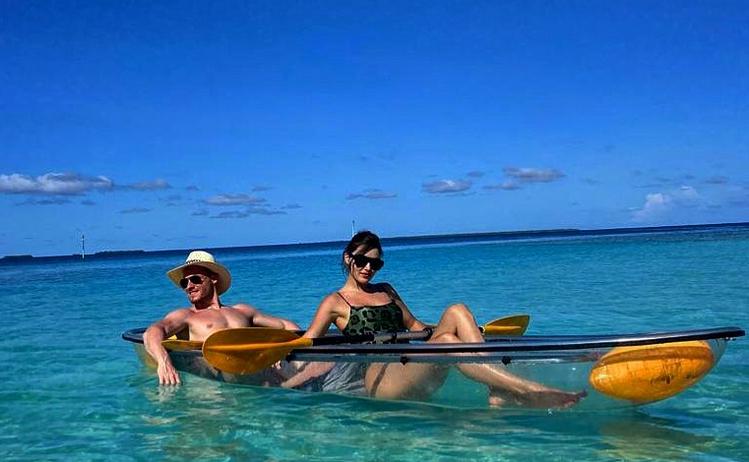 Kerem Bursin și Hande Ercel în Maldive