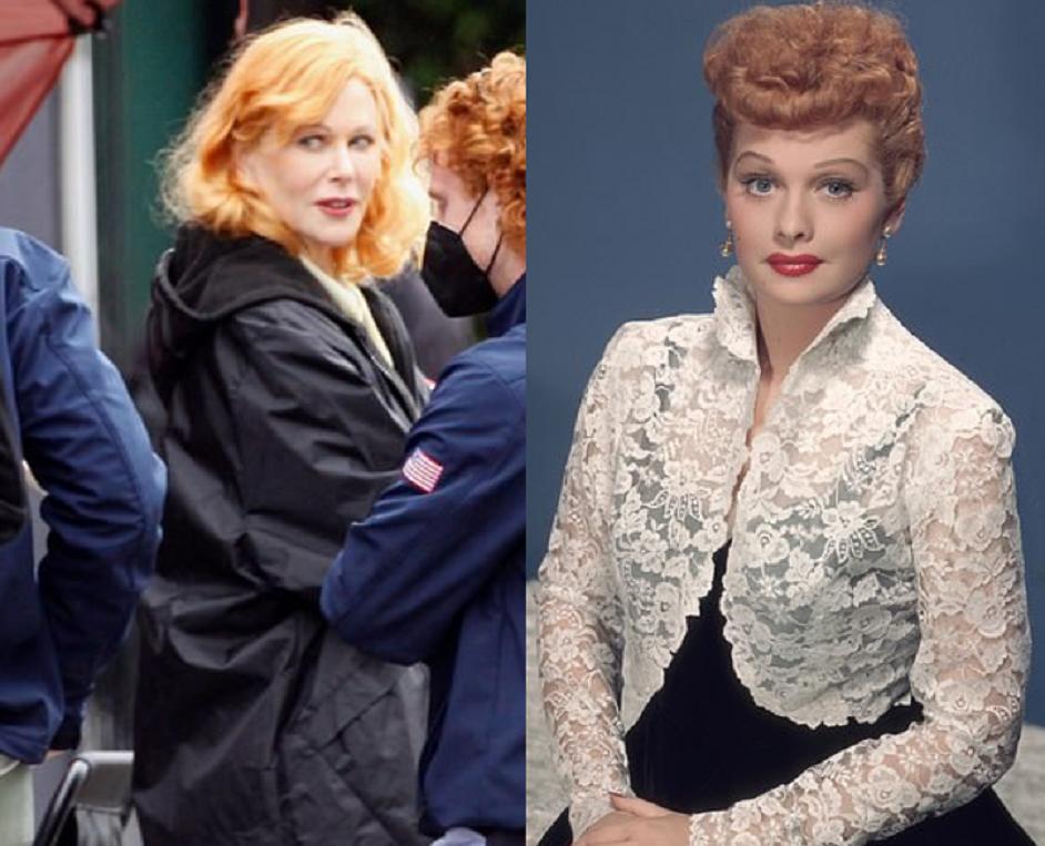 Nicole Kidman as Lucille Ball