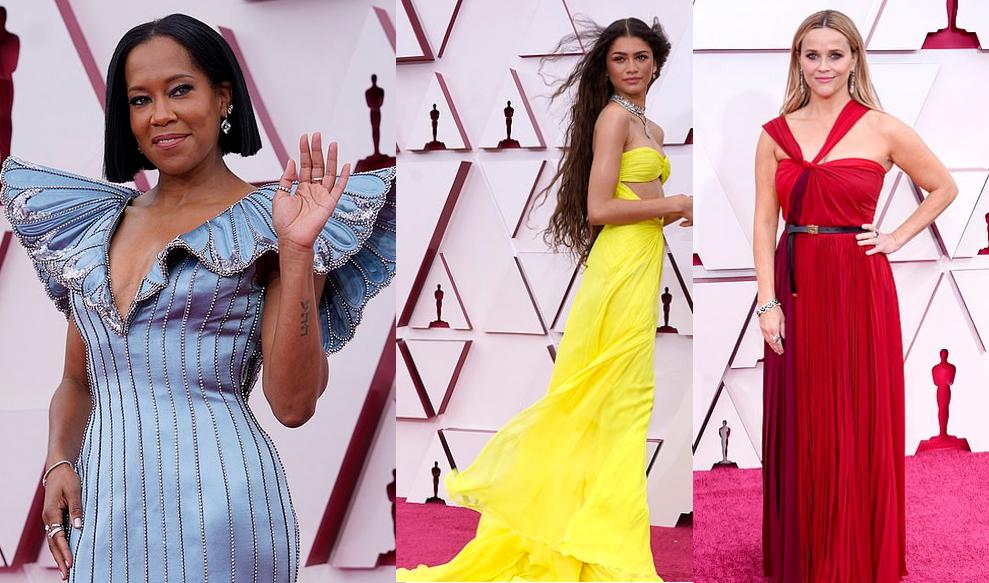 Premiile Oscar 2021-Covorul roșu