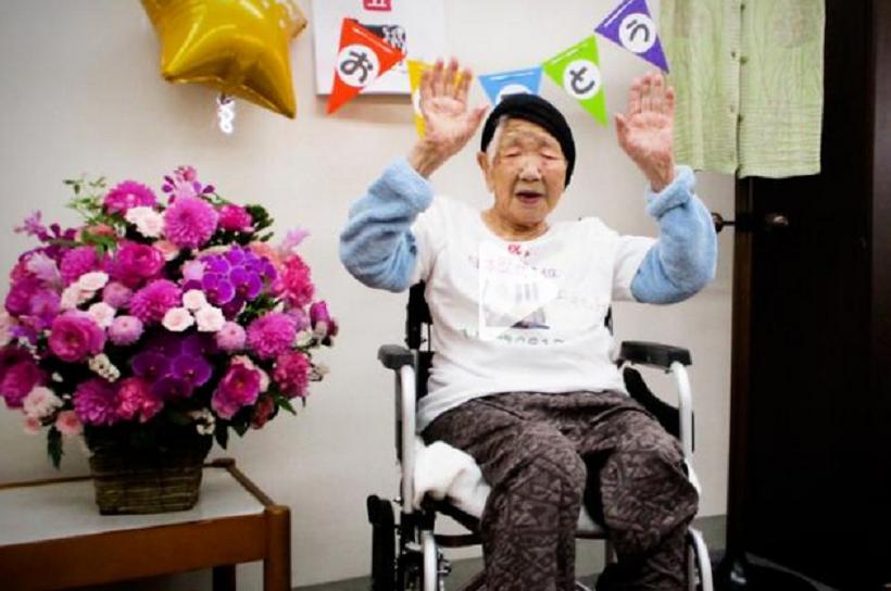 Cea mai în vârstă persoană din lume va purta flacăra olimpică în Japonia
